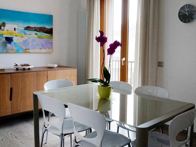A casa di Lorenza, Lanfranco e Gianluca, a Castelfidardo