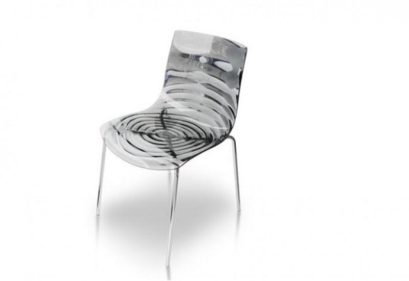 Sedie Di Plastica Trasparenti : Sedia l eau di calligaris frapiccini arredamenti