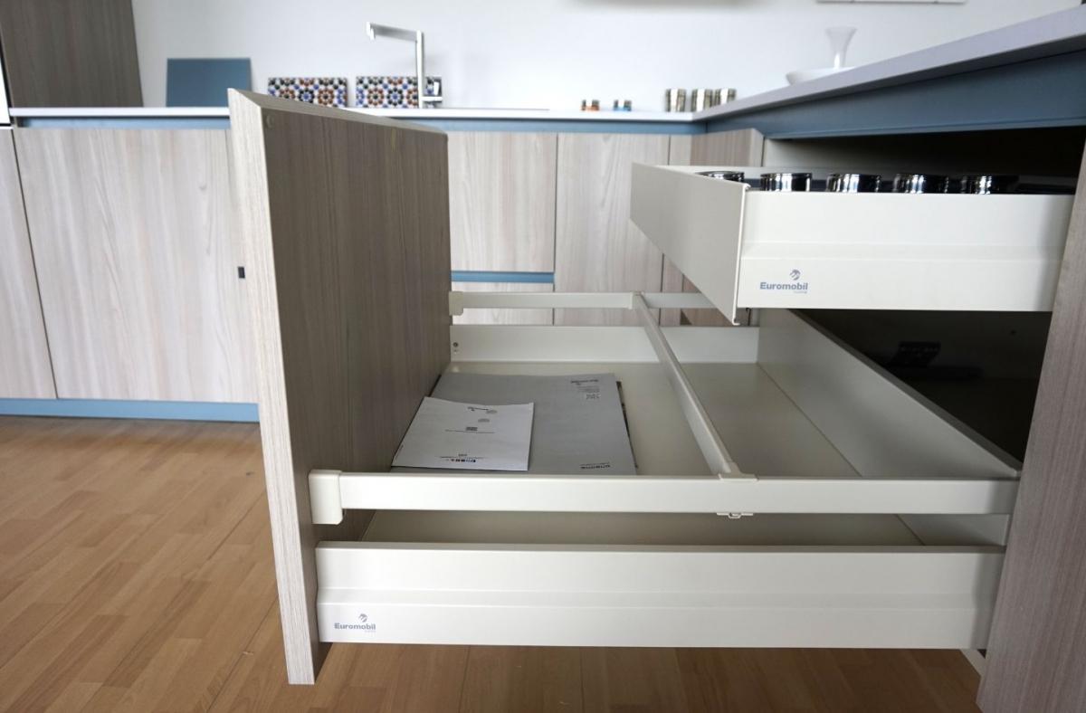 """In cucina   """"Lain"""" di Euromobil   Frapiccini Arredamenti"""